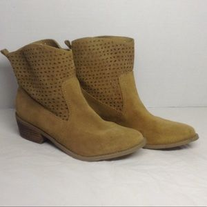 American Eagle Outfitters suede boots
